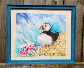 Dreaming Puffin